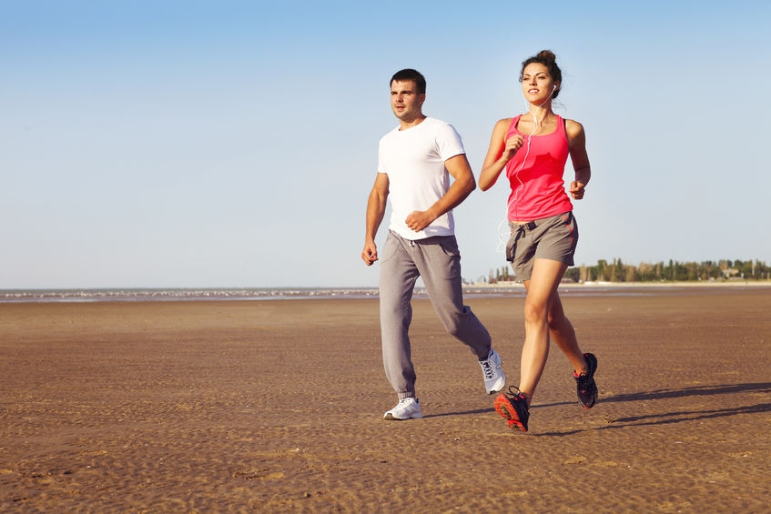 couple jogging rtf 123