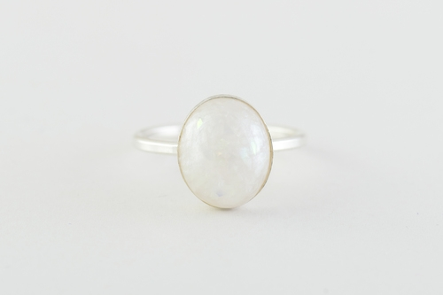 oval bold ring